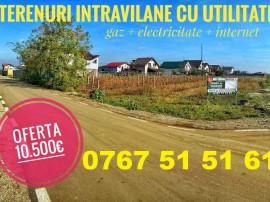 PROMOTIE Teren + Gaz + Curent 35€/mp util Berceni centru