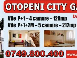 Vile 4 & 5 camere Otopeni City Gardens - 0% comision
