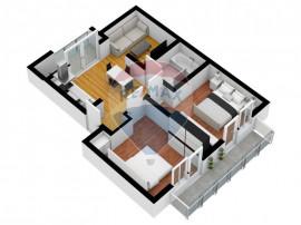 Apartamentul Ideal   3 camere   54 mp