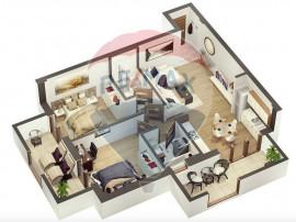 Apartament 3 camere 60 mpu | Etaj 1 | Zona Vest | Comisio...