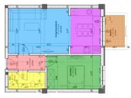 Apartament 2 camere in bloc cu lift predare Aprilie!