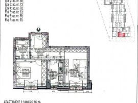 Apartament 2 cam 52.14 mp -3 minute fata de Metrou Nicola...