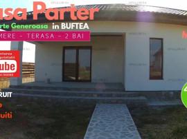 Casa Parter cu 4 Camere cu o curte generoasa in Buftea