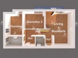 3 Camere, Decomandat, Bloc Nou, Semifinisat, Zona Semicentra