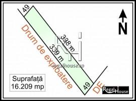 Petrachioaia - teren extravilan 16.209 mp