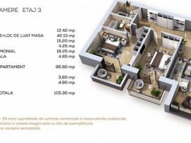 Apartament 3 camere Baneasa sector 1
