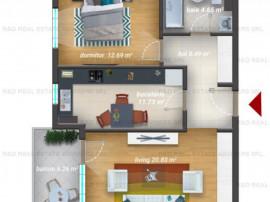 2 camere   Direct Dezvoltator   Piscina   Sector 6   Finaliz