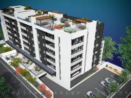 Elvila-2 camere 51,55mp+4,14mp balcon+loc de parcare subtera