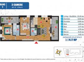 Apartament nou 3 camere Suprafata generoasa Vitan barzesti
