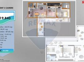 Apartament nou cu 3 camere de vanzare pe Calea Victoriei