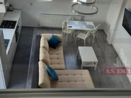 Ap.3 camere (Penthouse) mobilat/utilat LUX-zona Tractorul