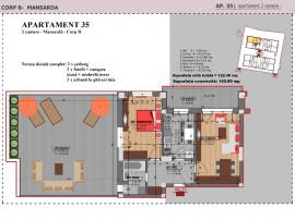 Nou FINALIZAT 60mp + 62mp terasa Sector 4 Giurgiului Luica