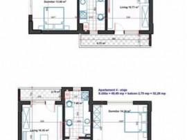Apartament 2 camere la 12 min de metrou Dimitrie Leonida
