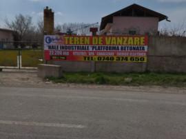 ID 9030 Teren industrial cu hale * Str Bacului