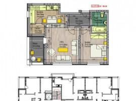 Apartament 2 camere decomandat, 4 minute Metrou Leonida