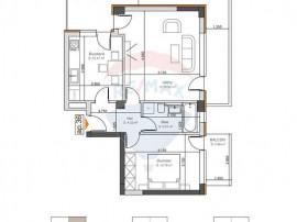 Apartament 2 camere, Cartier Noua.