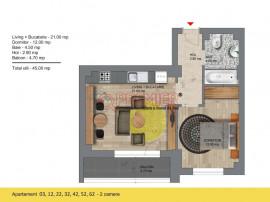Apartament 2 camere Pasarela Metrou Berceni
