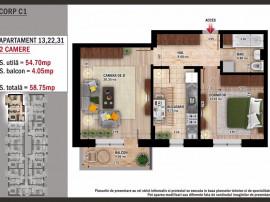 Apartament 2 camere - Direct dezvoltator - Cozy