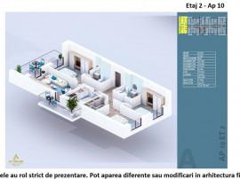 Apartament 4 camere Theodor Pallady-Metrou Nicolae Teclu ...