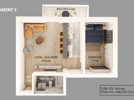 Apartamente 2 si 3 camere in Gavana | Dedeman - Str. Garlei
