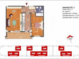 2 Camere decomandate balcon generos Avans minim 15% Metrou N