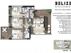 Ap.4 camere,Spatios,113 mp,3 bai,Bloc Nou,Belize Residence