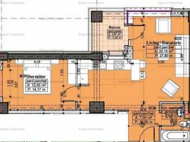 2 camere LUX, bloc nou ultracentral, zona Palas