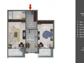 Apartament 2 camere in bloc nou Sos Alexandriei nr 99D