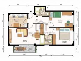 Zona Mircea cel Batran, 3 camere, confort 1, model decoma...