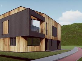 Teren 500 mp Borhanci, PUZ, autorizatie casa individuala
