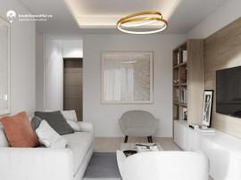 Apartament cu 2 camere - decomandat - 52.95 mp utili