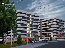 Apartament cu 2 camere - open space - 44.98 mp