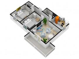 Apartament cu 2 camere   COMISION 0%   DEZVOLTATOR