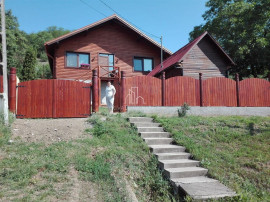 Casa 110 Mp Nou Construita pe Lemn cu 1600 Mp Teren, Curteni