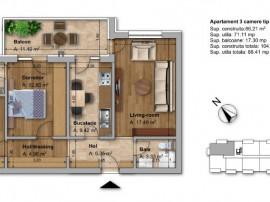 Apartament 3 camere Colentina, Fundeni, Dobroesti