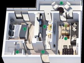 Ap. 2 camere complex premium Panorama City 1 Auchan Militari