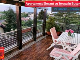 Apartament Elegant 2 Cam cu Terasa si Balcon in Bucurestii N