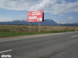 Teren - Rasnov, zona bifurcatie DN 7300mp