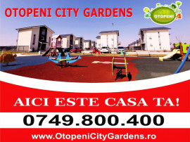 Vila 4 camere OTOPENI CITY GARDENS, Direct Dezvoltator