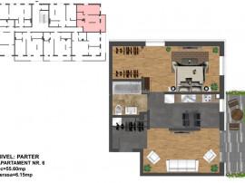 2 camere dressing -FINISAT LA CHEIE Ultramodern- 56 mp Zona