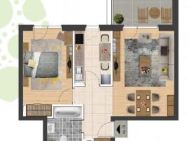 Apartament 2 camere zona confectii X1RF105H9