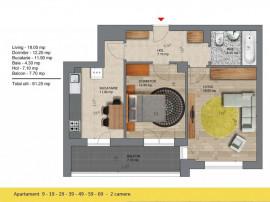 Noua Casa 2 camere 2 minute metrou Berceni