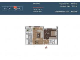 Apartament 2 camere-Brancoveanu-Gata de mutare