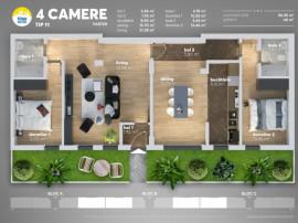Apartament 4 cam dezvoltator- titan sun park 7\ 800 m metrou