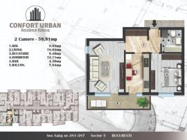 Apartament 2 camere, Confort Urban, Salaj
