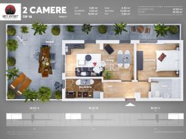 PROMOTIE apartament 2 camere cu Terasa Posibilitate Credit A
