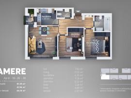 Grand Arena, apartament 3 camere, bloc 2021