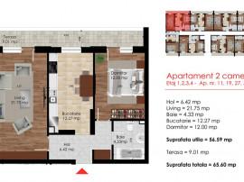 Apartament 2 camere - Comision 0% - Direct Dezvoltator