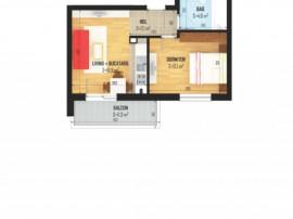 Ap2 camere,încălzire în pardoseala
