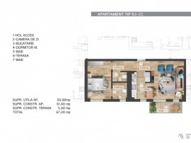 Apartament premium 2 camere Belvedere Residence